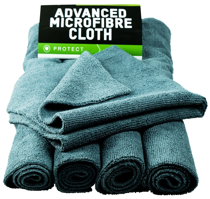 VALET PRO - Advanced Microfibre Cloth 5 pack Grey