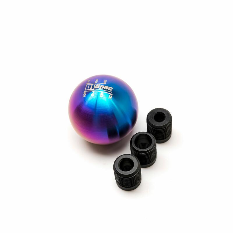 D1 Spec Universal Titan Round Shift Knob - 6 Speed