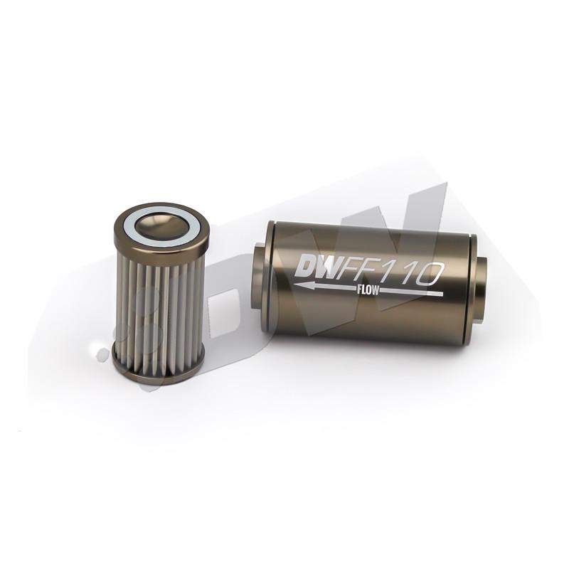 Deatschwerks - Universal Fuel Filter 100 Micron (Dash 8)