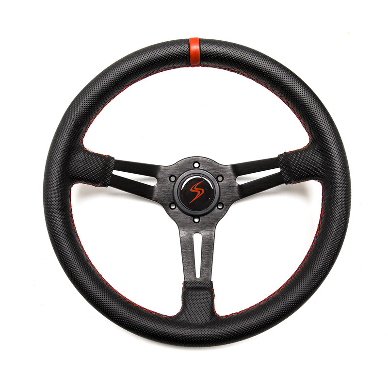 DS Steering Wheel - 70 mm Dish - Perforated Leather