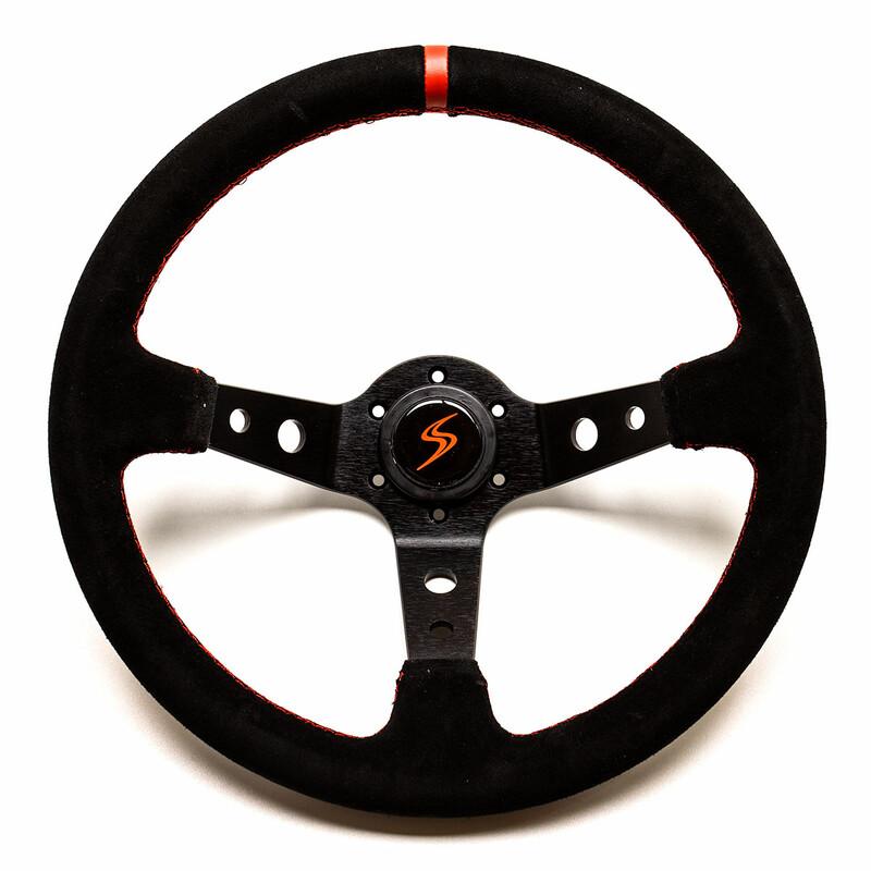 DS Steering Wheel - 90 mm Dish - Suede