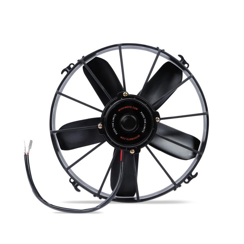 Mishimoto Race Slim Fan High Flow Black 10 Inch/25cm