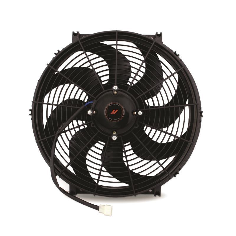 Mishimoto Race Slim Fan High Flow Black 16 Inch/40cm