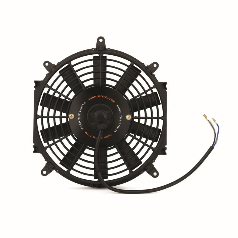 Mishimoto Slim Fan Electric 10 Inch/25cm Black