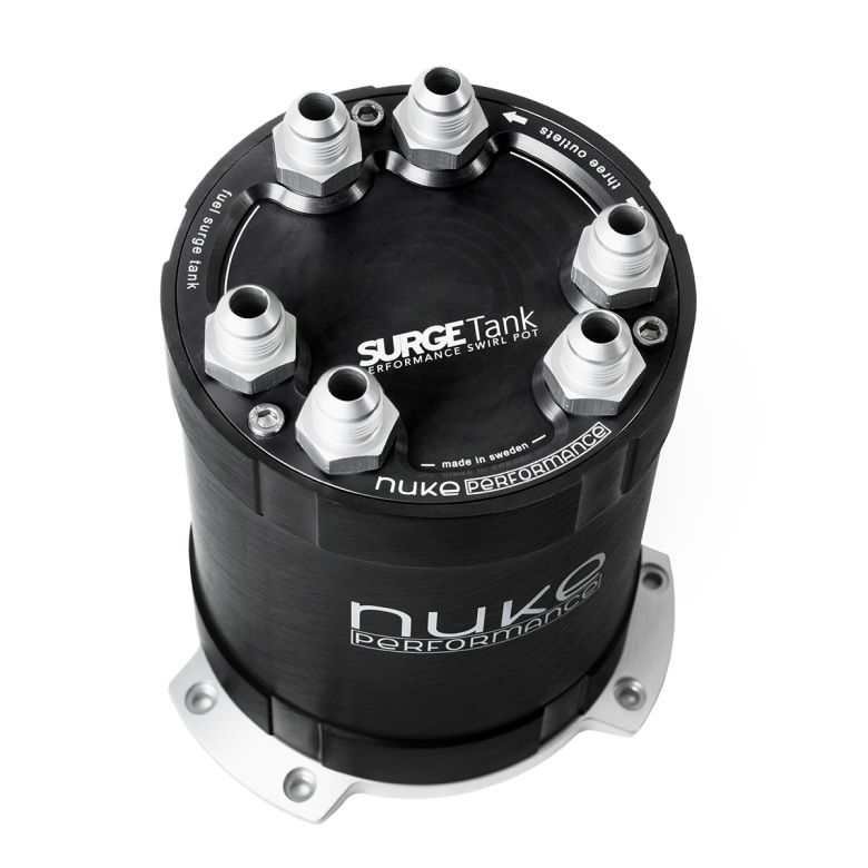 NUKE - 2G Fuel Surge Tank 2.0 liter for up to three external fuel pumps