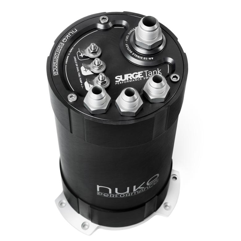 NUKE - 2G Fuel Surge Tank 3.0 liter for single or dual DW400