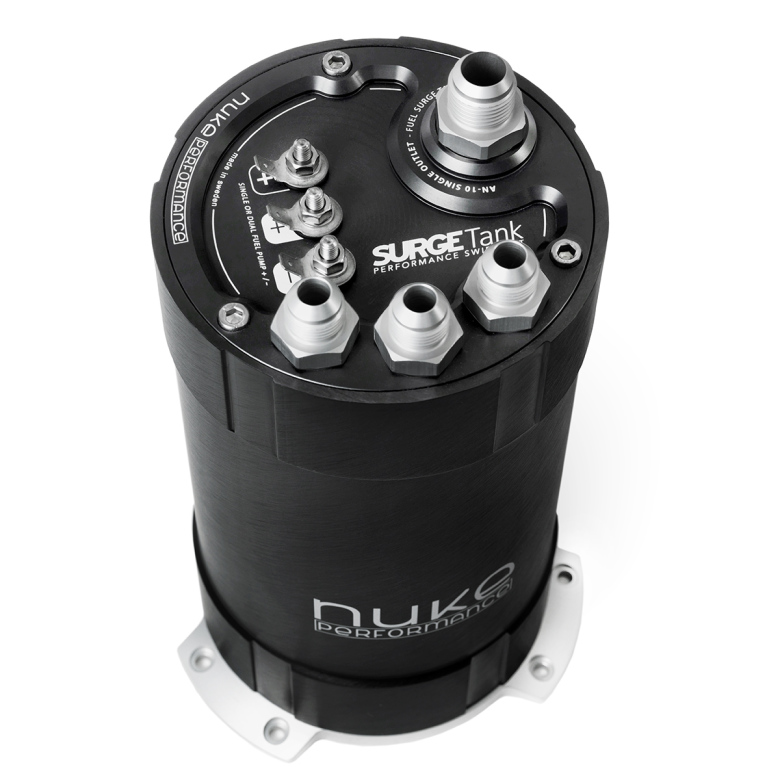 NUKE - 2G Fuel Surge Tank 3.0 liter for single or dual Walbro GST 450