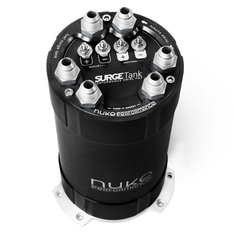 NUKE - 2G Fuel Surge Tank 3.0 liter for up to three internal fuel pumps