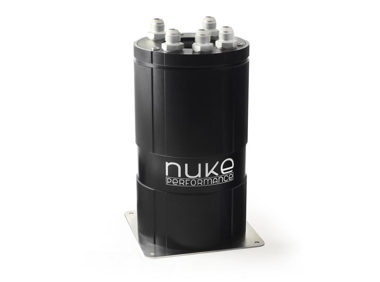 NUKE - Fuel Surge Tank 3.0 liter for external fuel pumps