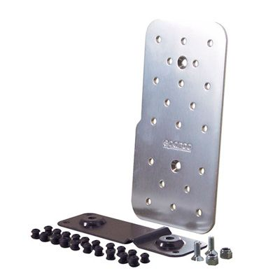 Sparco Polished Aluminium Drivers Footrest