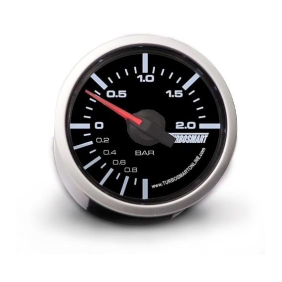 Turbosmart - Mechnical Boost Gauge 2 Bar 52mm