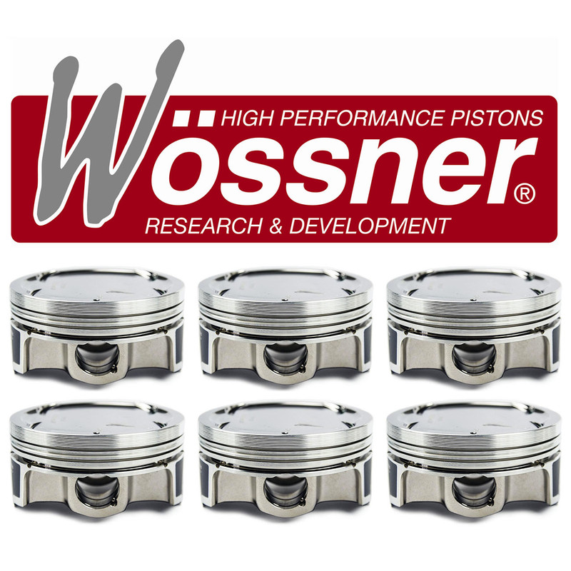 Wössner Forged Pistons - S50B32 Turbo